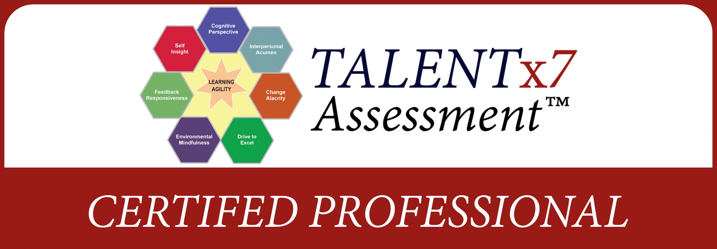 TALENTx7 Certification Learning Agility
